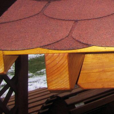 überdachte Sitzgruppe Pfeifers Rustikale Gartenmöbel